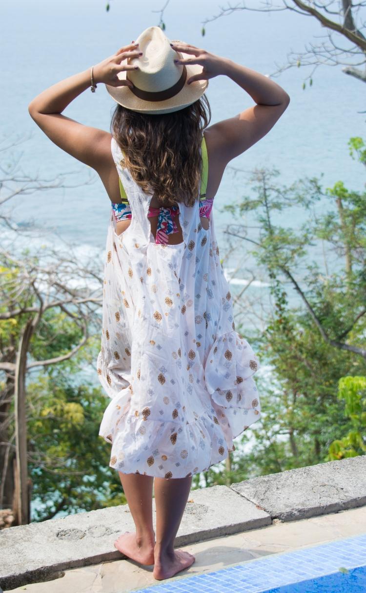 Boho Festival Themed Dress and Beach Outfit || Angulo 28 Blog || angulo28.com