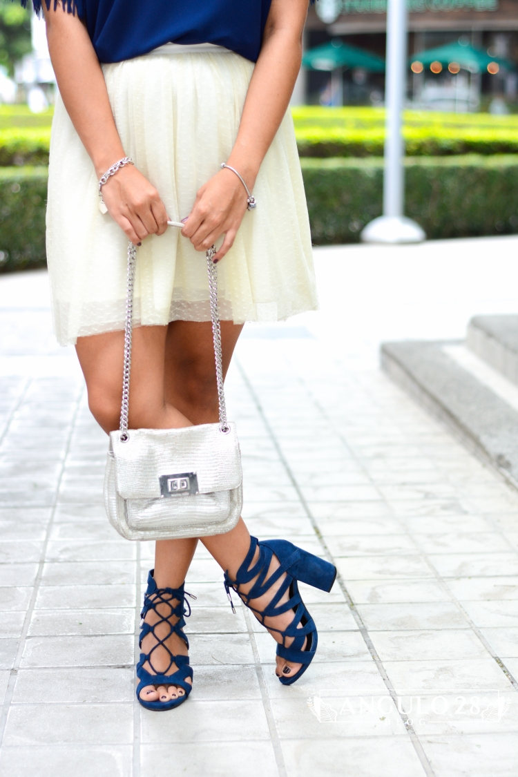 angulo 28 blog outfit inspiration street style blue fringe and skirt 11